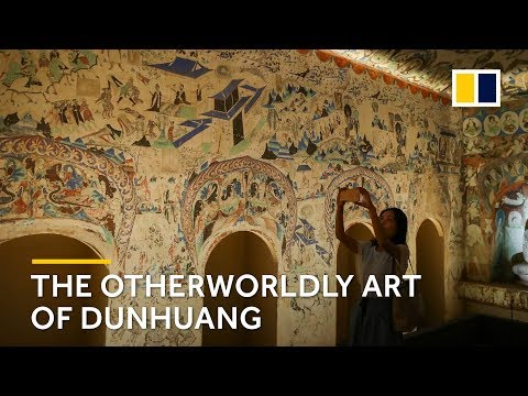 The otherworldly art of Dunhuang