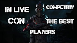 Fortnite[live]-sample competitive TBP team at 1500 subscribers gift a skin to one of you