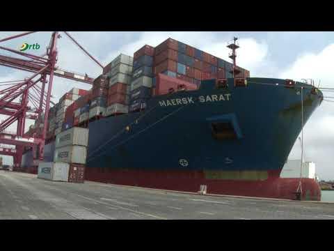 Transport maritime : le port de Cotonou multiplie ses performances