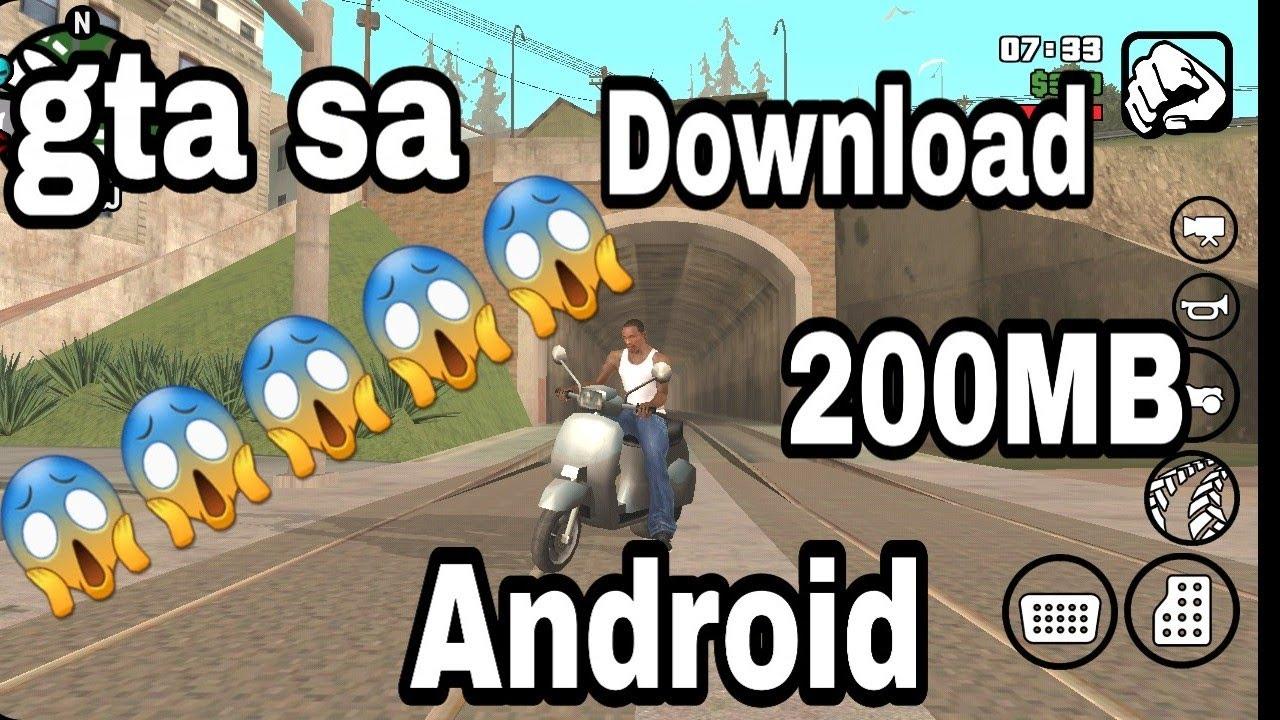 58 Mod Mobil Gta Sa Lite Android HD