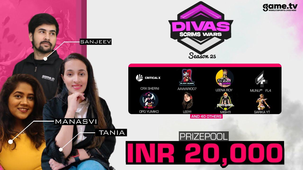 Game.Tv Divas Scrims War - Powered by Game.tv | India's #1 Mobile Esports Platform