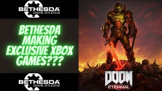 Bethesda Is Officially Apart Of Microsoft! Exclusive Games Coming???