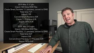 2019 Apple iMac i5 3.7Ghz Adobe Lightroom Classic CC Review