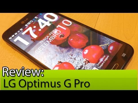 Prova em vídeo: LG Optimus G Pro | Tudocelular.com