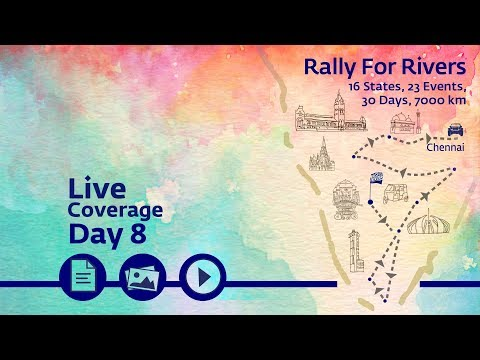 Rally for Rivers - Day 8 - Chennai | Sadhguru