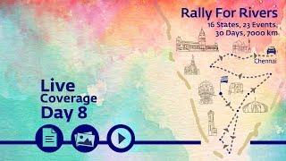 Rally for Rivers - Day 8 - Chennai   Sadhguru