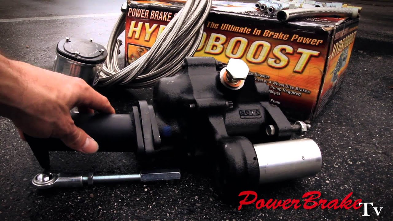 62 C1 Corvette Hydro Boost Brake Booster