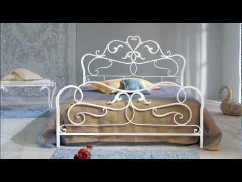 Letto in ferro battuto matrimoniale modello Rubens in vendita on-line: www.giwamaterassi.it ...