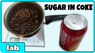 """""""How Much Sugar Is In Coke?"""" Science Experiment by HooplakidzLab"""