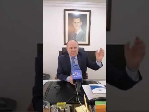 دام برس : لقاء مع وزير التعليم العالي الدكتور بسام ابراهيم