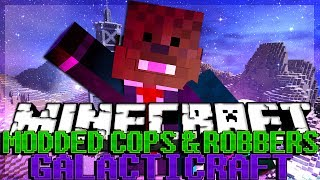 Minecraft Galaticraft Modded Cops and Robbers | JeromeASF