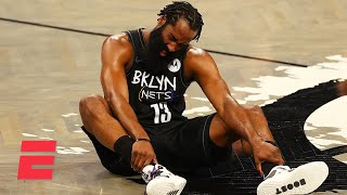 Woj shares the latest on James Harden's hamstring injury for the Brooklyn Nets