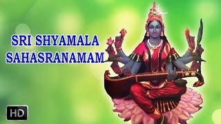 sri shyamala sahasranamam powerful mantra drr thiagarajan
