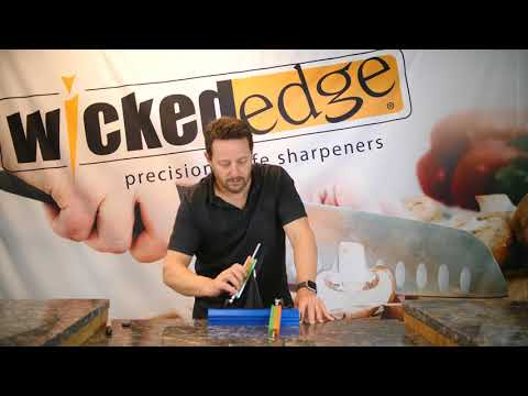 Wicked Edge GO -  WE50 Creating and Detecting a Burr