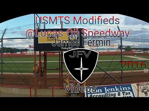 USMTS Modified #3, Feature Part 1, Lucas Oil Speedway, 2016