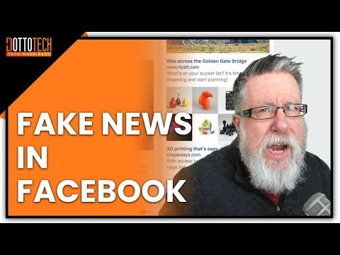 Spotting Fake News in Facebook, and What to Do About It