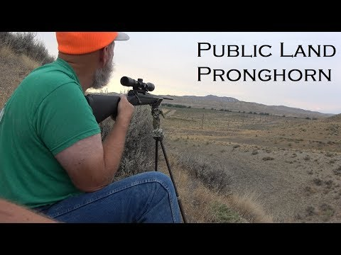 Wyoming! Hunting Pronghorn Antelope And Fishing The Miracle Mile! 4K