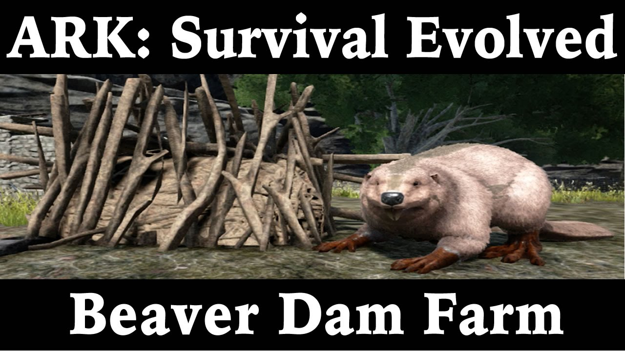 ARK VALGUERO Cementing Paste & Beaver Dams Locations - YouTube   Ark Beaver Dam
