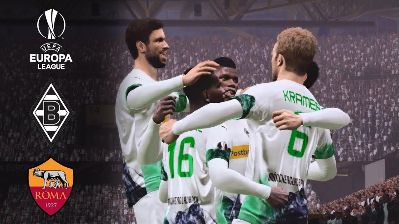Borussia Monchengladbach Vs As Roma Highlights Uefa Europa