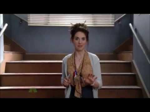 Community - Annie as the crazy Script Girl