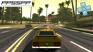 Ford Bold Moves Street Racing - PSP Gameplay (PPSSPP) 1080p