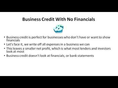 No Financials Required