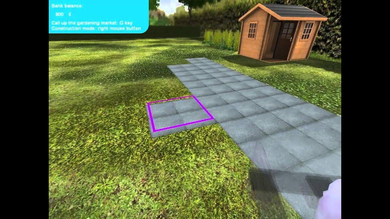 Garden Simulator 2010 Gameplay Youtube