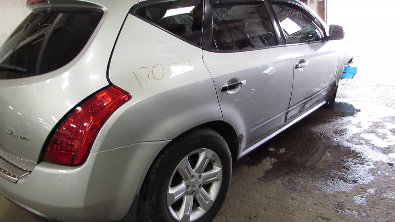 Parting out a 2007 Nissan Murano - 170223 - Tom\'s Foreign Auto Parts ...