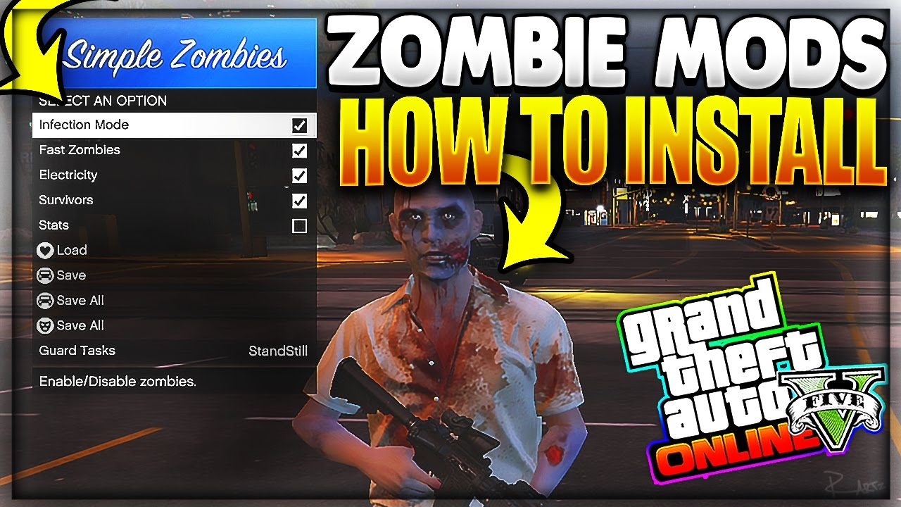gta 5 zombie apocalypse mod typical gamer download