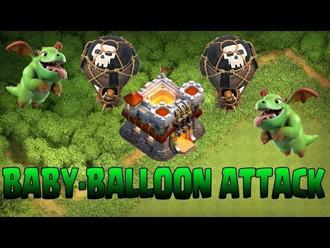 Clash Of Clans | Strongest TH11 3 Star Baby Dragon Attack Strategy In Legend League