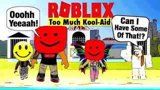 Me & Amaya Drank Too Much Kool Aid | ROBLOX Robloxian Life
