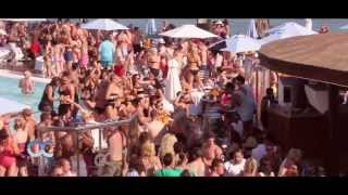 Ocean Club Marbella´s 1st Champagne Spray Party of 2013