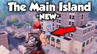 How To Get To The MAIN ISLAND In Creative With The Phone (Fortnite)