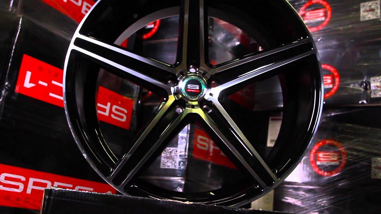 Spec-1 Wheels   SP-8 - YouTube