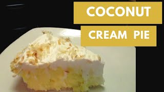 HOW TO MAKE A COCONUT CREAM PIE (DAY 1: HOLIDAY CREAM PIES SERIES)