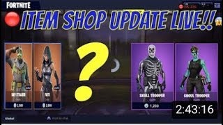Boutique d'articles Fortnite - Fortnite articles quotidiens AUJOURD'HUI (FORTNITE LIVE - GIFTING SYSTEM UPDATE) COUNTDOWN