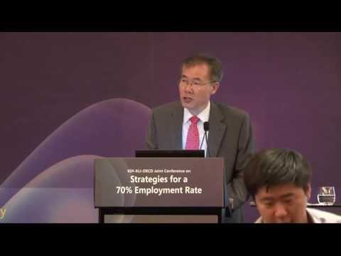 """[KDI] Jaehung LEE """"The Roadmap to Achieve 70% Employment Rate"""""""
