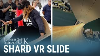 We tried the VR slide on top of the UK
