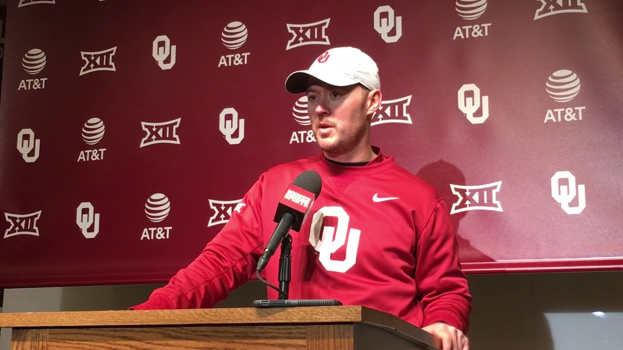 Lincoln Riley post Red/White Game - YouTube