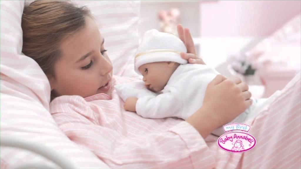Baby Annabell Ospalá panenka - YouTube