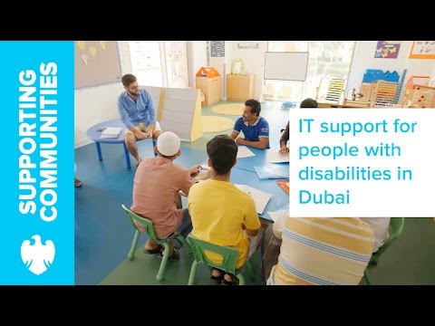 Providing It Equipment And Support To People With Disabilities In Dubai
