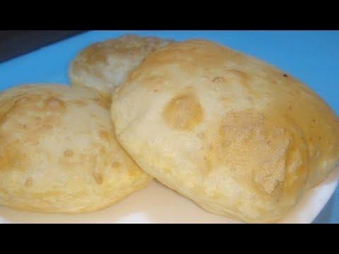 Bhatura Recipe - भटूरे बनायें बाजार जैसे फुले हुये - How to Make Bhatura