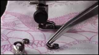 Подольская швейная машина. Механизм зажима иголки. Видео №61.