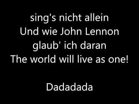 Alex Diehl Nur ein Lied Lyrics