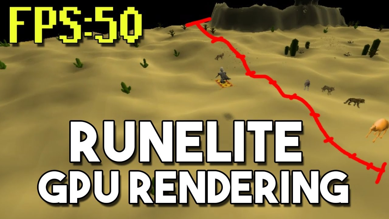 Testing Out GPU Rendering on Oldschool Runescape! Increased Draw Distance  and Higher FPS! [OSRS]