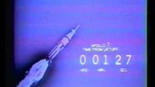 Launch of Apollo 7 (CBS)