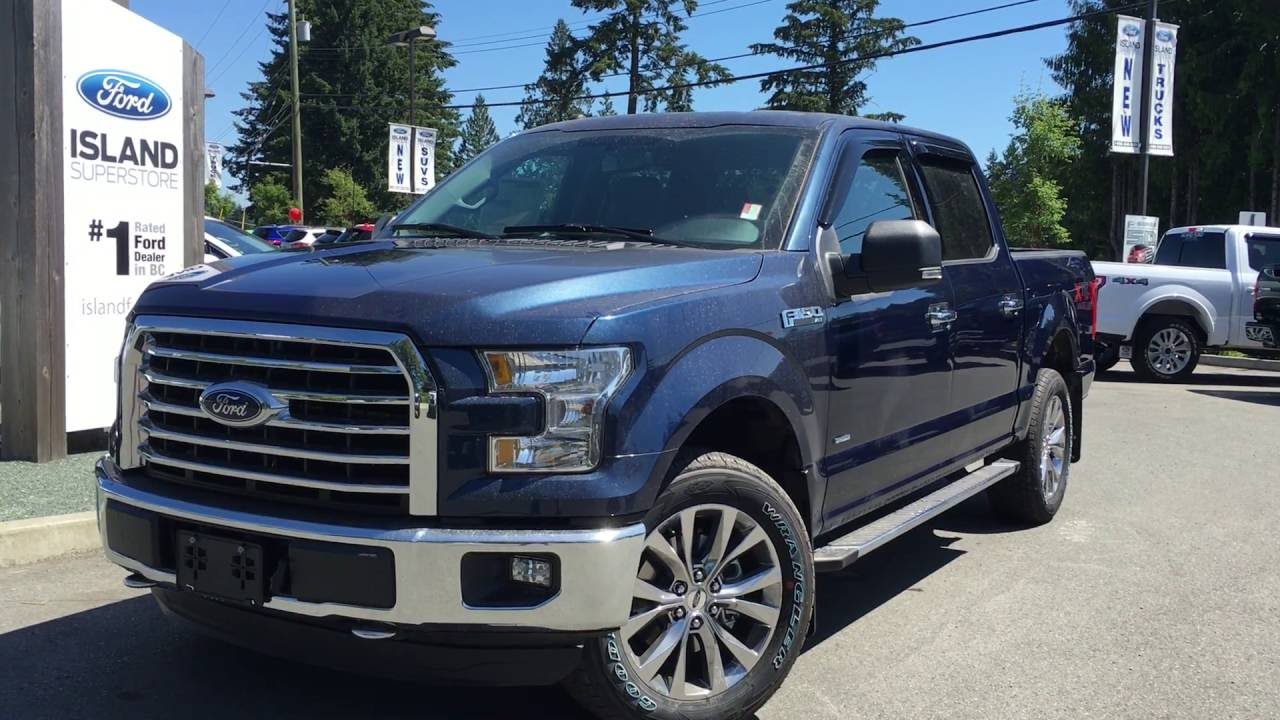 2016 ford f 150 xlt xtr fx4 supercrew touch screen review island ford youtube. Black Bedroom Furniture Sets. Home Design Ideas