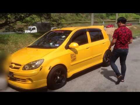 Hyundai Getz Inokom Click TB Dodge Brisa Custom Modified Malaysia Gathering