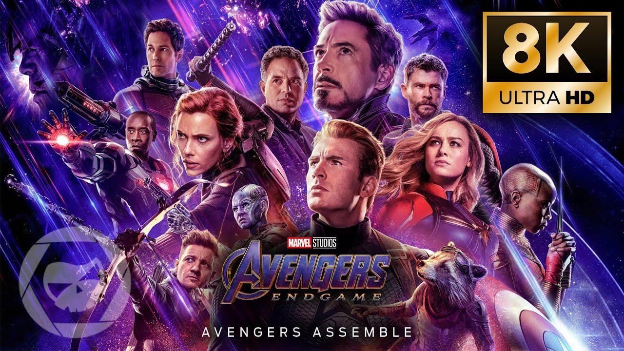 Download Avengers: Endgame - Avengers Assemble (2019) [8K]