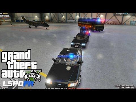 LSPDFR #462 LOS SANTOS PROTECTION SQUADS  !! (GTA 5 REAL LIF
